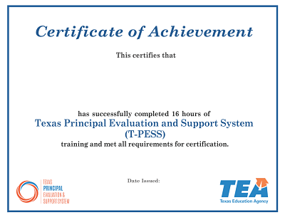 graphic relating to T-tess Rubric Printable named Appraiser Working out- T-PESS