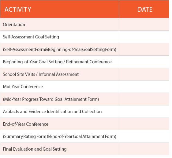 calendar timelines